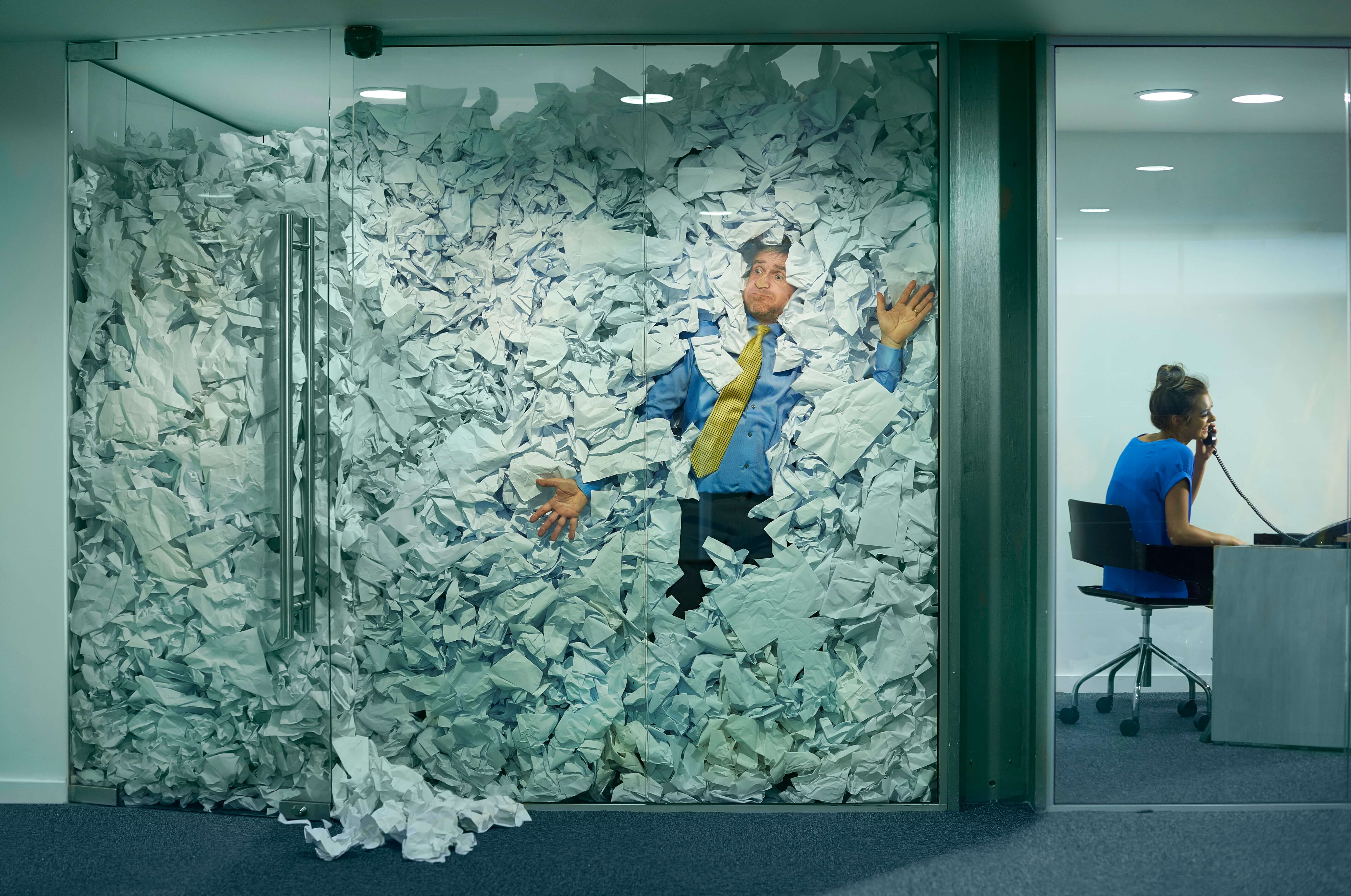 Are your discarded papers starting to overflow?